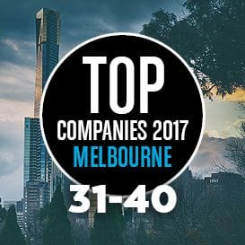 THE 2017 MELBOURNE TOP 50 COMPANIES REVEALED: NUMBERS 40 TO 31