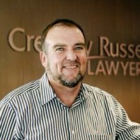 CREEVEY RUSSELL ON THE MOVE