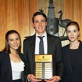 UQ MOOTERS A FORCE TO BE RECKONED WITH