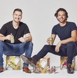 MEET THE GUYS BRINGING NATURALLY SUGAR-FREE SOFT DRINK TO A DOMINO'S NEAR YOU