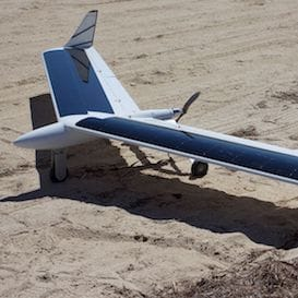 THE SOLAR POWERED DRONE THAT COULD FLY INDEFINITELY