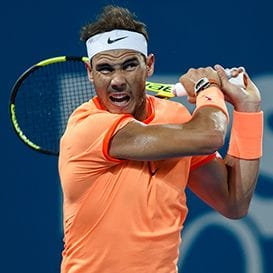 RAFA'S BACK AT BRISBANE INTERNATIONAL