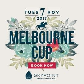 ENJOY A SKY-HIGH MELBOURNE CUP DAY EXPERIENCE AT SKYPOINT