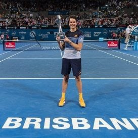 MILOS RAONIC AND KEI NISHIKORI RETURN TO BRISBANE