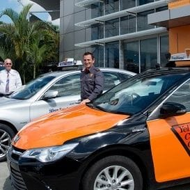 UBER A 'SIGNIFICANT' CHALLENGE FOR CABCHARGE WITH DRIVERLESS CARS ALSO ON THE WAY