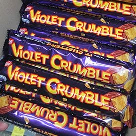 Nestle sells Violet Crumble back to Australia