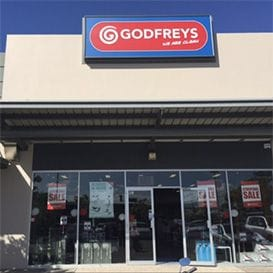 At 99 years old, Godfreys vacuum empire co-founder wants to buy his business back