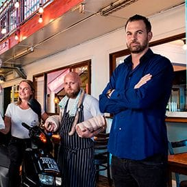 Serial restaurateur parts with iconic Justin Lane business