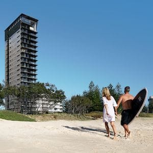 Optimus breaks ground on luxury apartment tower in Broadbeach