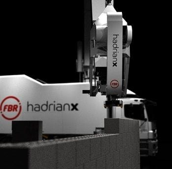 Fastbrick Robotics launches new service, discontinues Caterpillar MoU