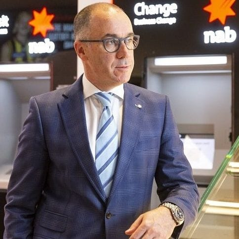 Massive first strike on CEO pay at NAB
