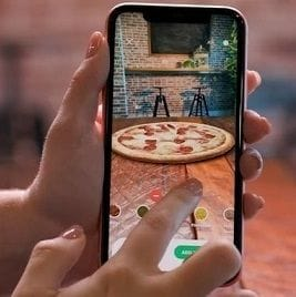 """Very early entry"" with AR takes Domino's into uncharted food retail territory"