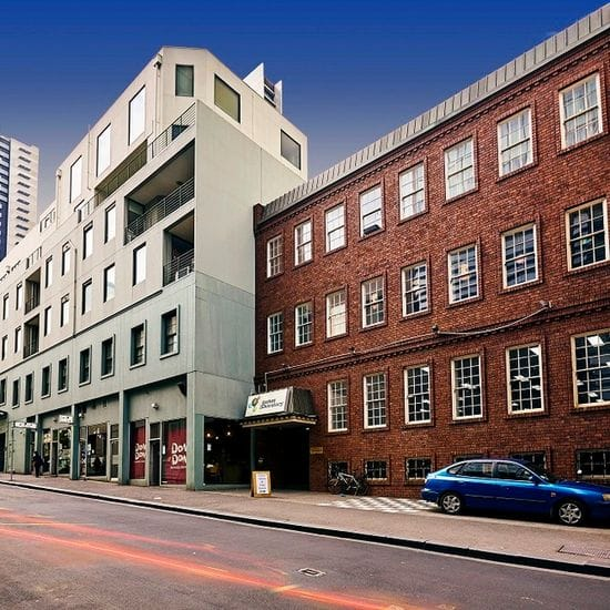Two properties sold at record square metre rate for Melbourne precinct