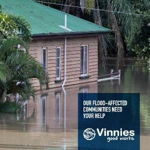Vinnies North Queensland Flood Appeal