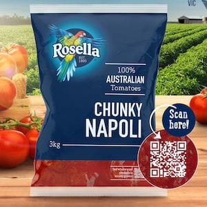 Rosella partners with Kagome Australia for new traceable tomato products