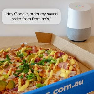 Domino's partners with Google on Assistant support