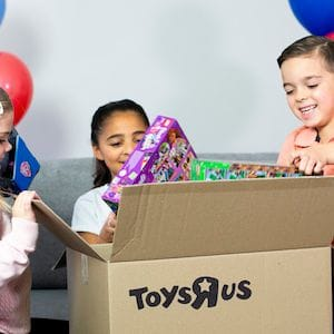 Toys 'R' Us returns to Australian shores