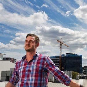 Construction entrepreneur thinks outside the box
