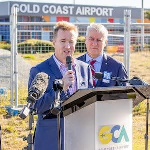 The Gold Coast Airport redevelopment leaves the ground