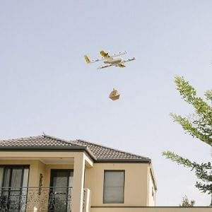 Google drone delivery to touch down in Queensland