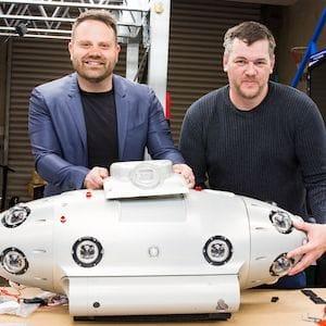 Melbourne startup unveils ocean floor 'Street View' submarine