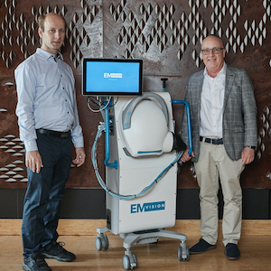 EMVision builds breakthrough portable brain scanner