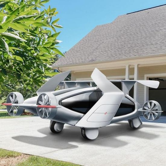 Could this Australian-designed flying car be the future of urban transport?