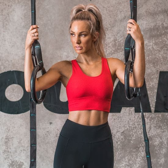 Workout queen Ashy Bines launches activewear collection