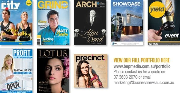 Business News Australia Custom Magazine Portfolio