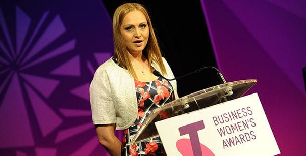 Sarah Bartholomeusz - YouLegal - Telstra Business Women's Awards