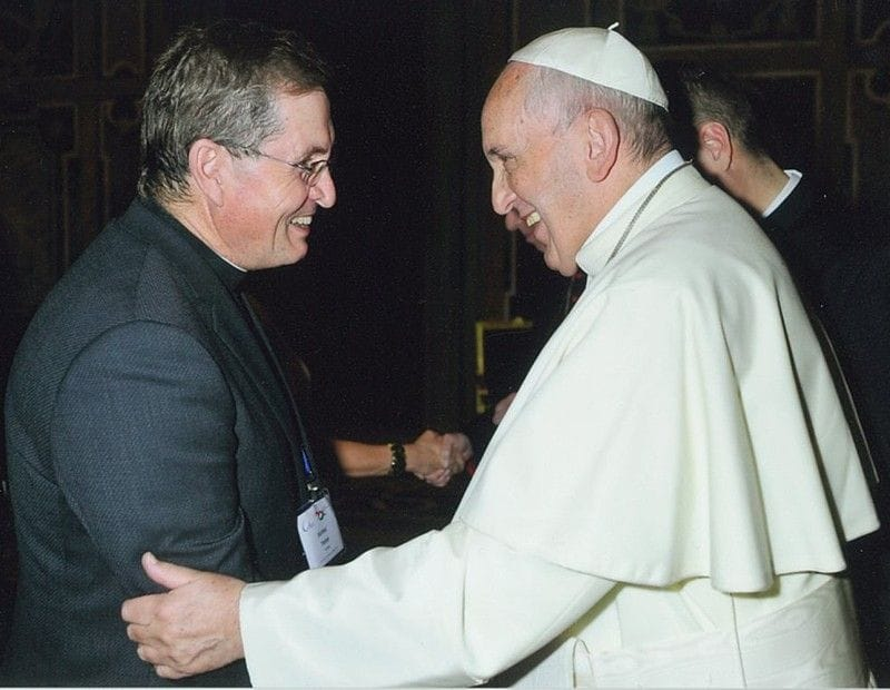 Former St Michael's student honoured at the Vatican