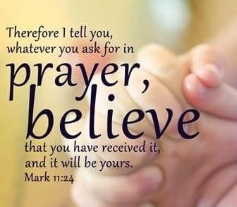 Prayer to celebrate God's love