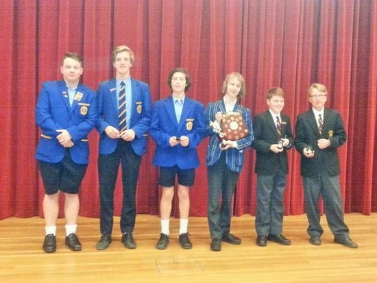 Lasallian Public Speaking Challenge at Mentone