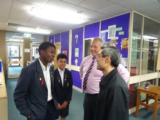 PARC Councillor's visit to Melbourne Lasallian Schools