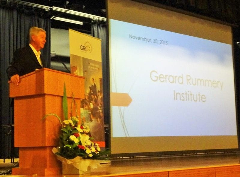Inauguration of Gerard Rummery Institute