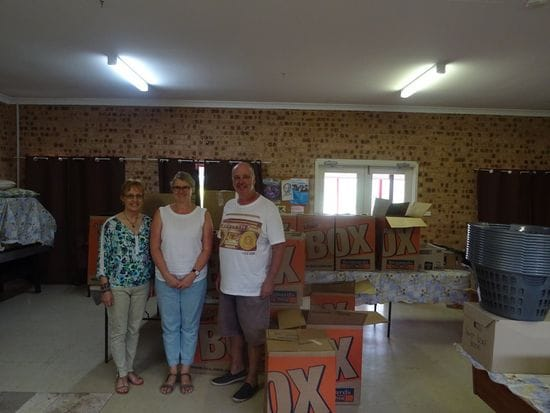 Oakhill College Christmas Hampers for Homeless Families