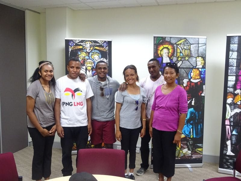 PNG Students gather for Lasallian Student Leadership Seminar
