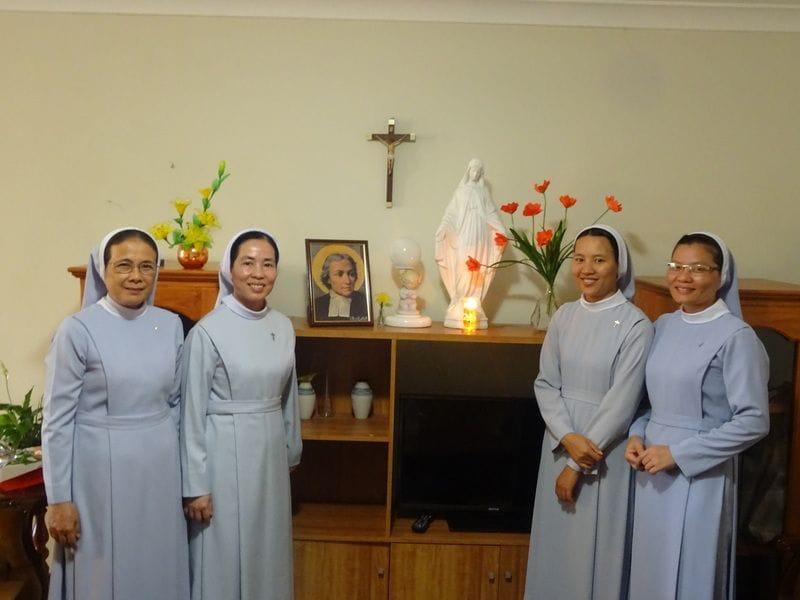 New La Salle Sisters arrive from Vietnam