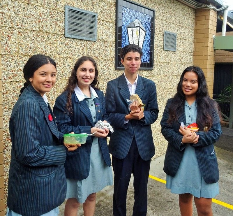 Inspiring Address by Student Leaders at St John's College Opening Year Mass