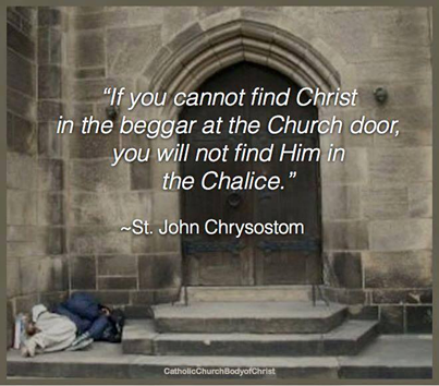 Finding Christ in the Poor