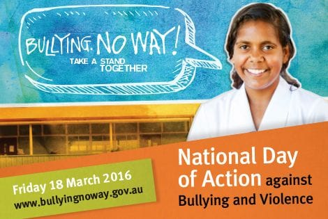 Lasallian Schools backing national action against bullying