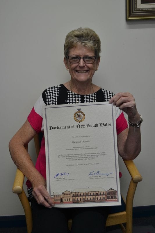 La Salle College Bankstown staff member receives NSW Award