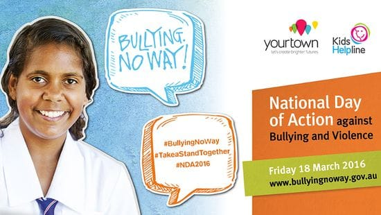 Kids Helpline backs National Day of Action Against Bullying and Violence