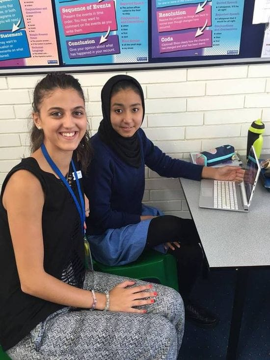 New Homework Club for refugee students at St Michael's College
