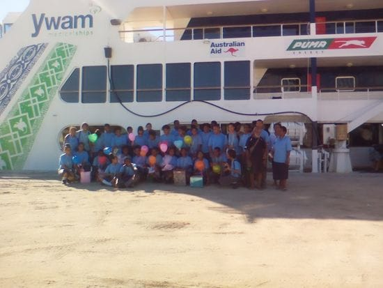 Strong volunteer spirit at Jubilee Catholic Secondary School, PNG