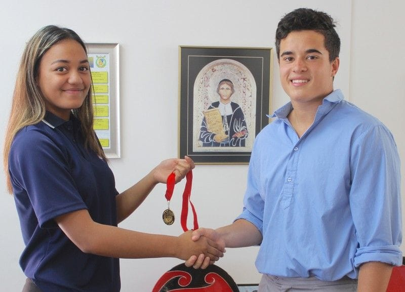 Bravery Medal awarded to Francis Douglas Memorial College student