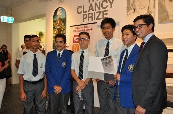 Lasallian students shine at Clancy Awards for Religious Art