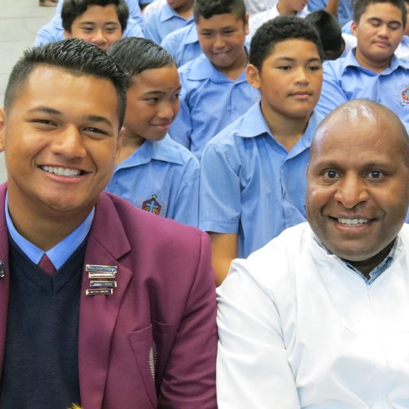 From the PNG Highlands to Auckland- Br Thomas Yapo shares his story