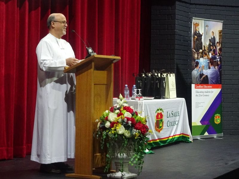 Brother Superior delivers keynote address at Lasallian Educators Conference
