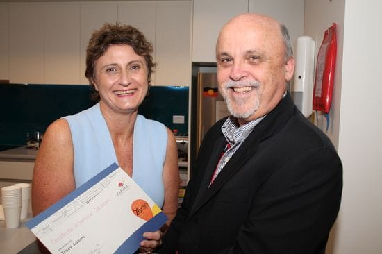 yourtown CEO receives award from the Superior General